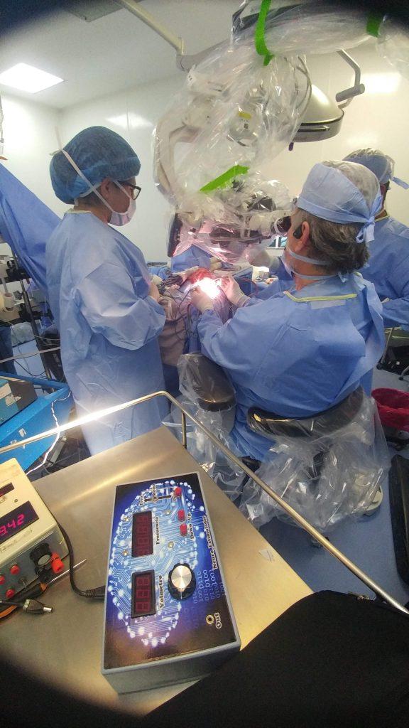 monitoreo intraoperatorio